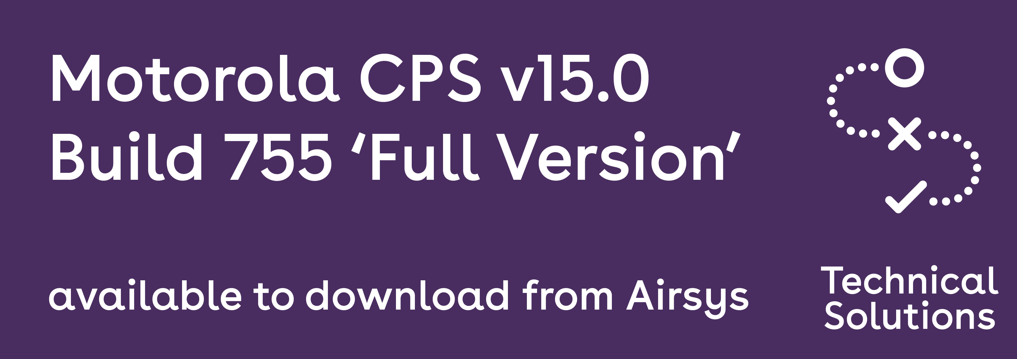 motorola cps versions - softwaremonster info